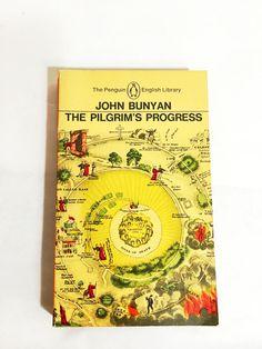 The Pilgrim's Progress. John Bunyan. Paperback book in VG condition! Penguin Library. Vintage Paperback. Religious English literature