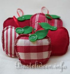 Little apple decorations - site not in English but I like the cute pics.