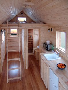 If I were single, I would totally live in a teeny tiny house!