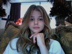 chloe grace moretz. So pretty without makeup