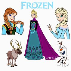 Krafty Nook: Disney Frozen SVG Files