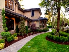 Bedroom : Amazing Front Yard Landscaping Ideas Home Landscapings ...