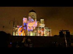 Some impressions from Lux Helsinki event January Unfortunately the position of the camera was not ideal for shooting Casa Magica's architectural pr. 3d Projection Mapping, Central Europe, Light Art, Helsinki, Finland, Denmark, Norway, Cathedral, January 5th