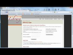 The Productive Researcher: Search the Library Catalog for Electronic Resources