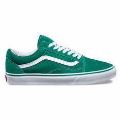 Vans old skool Suede old skool Ultramarine green/true white