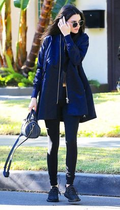 We love Kendall's navy jacket!! Click here to get yours!