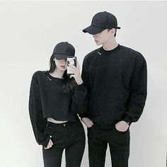 Couple Outfit ulzzang (notitle) Source by Outfits ulzzang Korean Girl Photo, Korean Girl Fashion, Ulzzang Fashion, Korea Fashion, Kpop Fashion Outfits, Tomboy Fashion, Korean Outfits, Fashion Guys, Couples Assortis
