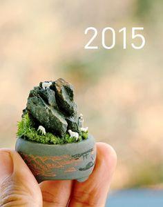 Teeny Tiny Micro Miniature Garden