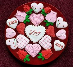 Valentine's Day Cookies   Time for the Holidays