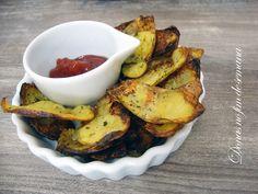 Chips de casca de batata. | 20 receitas que não deixam dúvidas de que a batata é a melhor comida