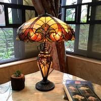 Tiffany Style Yellow Dragonfly Lighted Base Table Lamp In 2020 Tiffany Style Table Lamps Lamp Tiffany Style Lamp