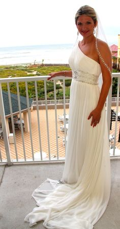 Beach Wedding Dress Her Is Super Beautiful Just The Right Touch