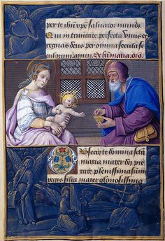 The Morgan Library & Museum Online Exhibitions - Hours of Henry VIII - Holy Family