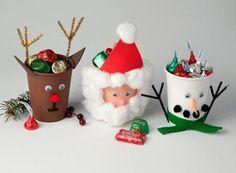 Bricolage de gobelets de bonbons des fêtes