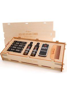Big Red Beard Combs Stash Kit