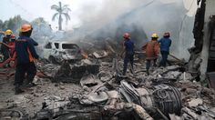 06/30/2015 - Up to 113 killed as military plane crashes in residential area of Medan, Indonesia (VIDEO)
