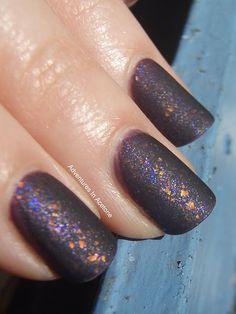sparkly matte.