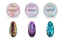 Electric Effect by NeoNail - folia w płatkach do zdobień Nail Colors, Nail Designs, Nail Art, Glitter, Electric, Nails, Ebay, Life, Ongles