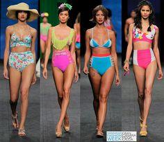 Top Swimwear Trends 2016 at Gran Canaria Moda Calida: High Waist