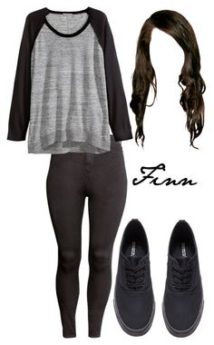 """""""Finn Collins"""" by the100style ❤ liked on Polyvore featuring H&M, the100 and finncollins"""