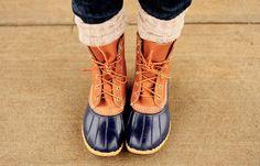 e3992fa0cc9 Bean boots...you know I love them Rain Boots