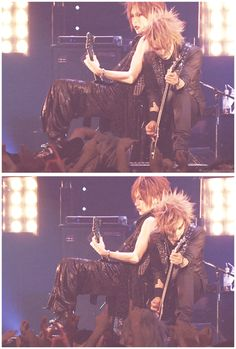 Uruha and Reita. The GazettE