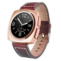 Generic A11 Leather Strap Bluetooth Smart Watch, Heart Rate / Pedometer / Sleep Monitor / Sedentary Reminder / Camera Remote Control(Rose Gold). Smart Electronics. Smart Watches. Wearable Technology. Cell Phones & Accessories. Smart Wearable.