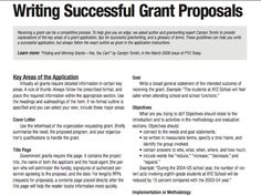 How To Write A Winning Grant Proposal From Cover Letter To Budget