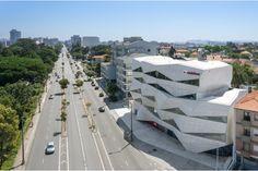 Vodafone Headquarters in Porto by Barbosa & Guimarães Joao Morgado - Aerial Photography www.joaomorgado.com