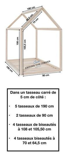 lit cabane interieur schema diy mesure diy a fabriquer soi meme mesure maison ma… bed hut indoor schema diy measure diy to make yourself measure home wooden house for children tutorial Most Beautiful Child, Beautiful Children, Montessori Bed, Kabine, Cabin Interiors, Childrens Room Decor, Kid Decor, Home Decor, Wooden House