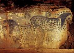 dappled horses, from the cave at Pech Merle, France