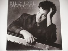 """Billy Joel Greatest Hits - Volume I & Volume II - """"Piano Man"""" - """"Uptown Girl"""" - Columbia Records 1985 - Vintage Vinyl 2LP Record Album by notesfromtheattic on Etsy"""