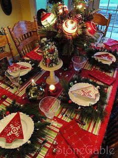 Christmas tablesetting Decor