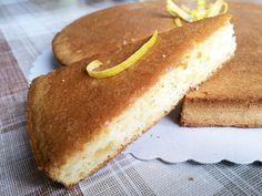 Lemon Drizzle Cake – gesunder Zitronenkuchen ohne Mehl, Zucker oder Butter | fithealthydi