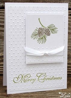 homemade christmas cards | Visit creativecraftsbylynn.blogspot.com #HomemadeChristmasCards
