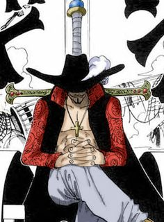 Dracule Mihawk : I don't remember the name of every weakling I crush.