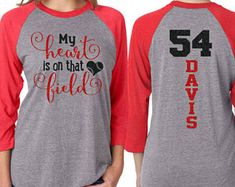 Glitter Baseball Mom 3/4 Sleeve Raglan Shirt|Customized Baseball Mom Shirt