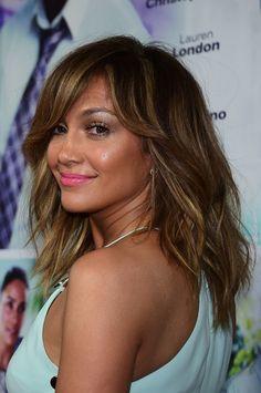 Jlo Hairstyles Degrade Milong Frange Jennifer Lopez  Hairsusan Janssen