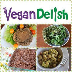 New Recipes on the Vegan Delish cooking app for iPhones and iPads (download from the iTunes App store). #cleaneats