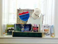 Road Trip Reads! #YA #BookDisplays Library Book Displays, Library Books, Road Trip, Reading, Road Trips, Reading Books