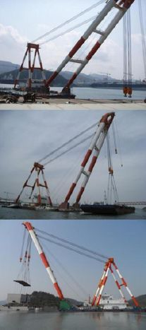 Floating Crane - http://boatsforsalex.com/floating-crane/ -    US$ 1,379  Year: 2008Length: 197'Engine/Fuel Type: SingleLocated In: Korea, Republic ofHull Material: SteelYW#: 75979-2512689Current Price: EUR  1,000 (US$ 1,379)     600Ton Floating Crane for Sale     EXCLUSIVELY in our hand for SaleMU2408GENERAL- Built: ...