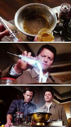 9x11 First Born [Cas obviously knew it wouldn't work. He just went through with the spell for Sam's sake. You know, because the Winchester's always try...]