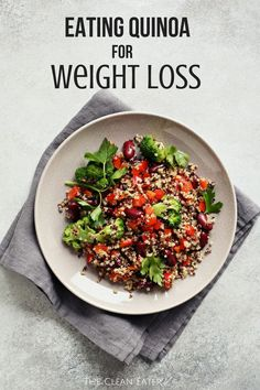 Weight Loss Diet That Work Take a look at how you can eat quinoa for weight loss! Loss Diet That Work Take a look at how you can eat quinoa for weight loss! Low Carb Diet Plan, Healthy Diet Plans, Healthy Tips, Healthy Snacks, Healthy Recipes, Healthy Dinners, Eating Healthy, Weight Loss Snacks, Best Weight Loss