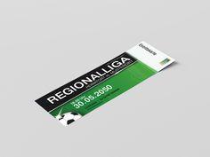 Deine individuelle Fußball-Eintrittskarte.㋡ Nur jetzt bei onlineprintxxl. Gestalte auch du deine persönliche Eintrittskarte und veredle sie mit unseren Hologramm-Aufklebern oder lass Sie dir falzen und für den Abriss bereit machen. Ticket, Hologram Stickers, Book Folding, Templates