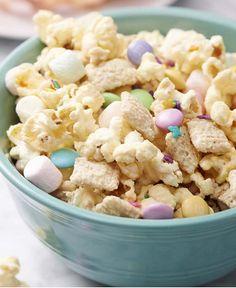 Springtime M&M Popcorn Snack Mix http://wm13.walmart.com/Cook/Recipes/34361