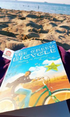 Protagonist, Wadgda at 11 is a spunky and determined character. The Green Bicycle is an inspiring and sweet read, and little bit heartbreaking all at once. Book Review, Bicycle, Reading, Green, Books, Bike, Libros, Bicycle Kick, Book