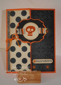 Halloween Flip Card