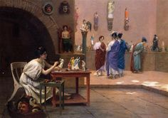 Painting Breathes Life into Sculpture by Jean-Leon Gerome (Jean Leon Gerome), Oil on canvas