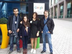 Our wonderful team visiting Google - 6th of November 2015