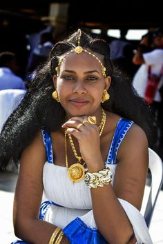 Beautiful woman from Ethiopia